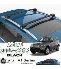 BMW X5 Turtle Roof Rack Black