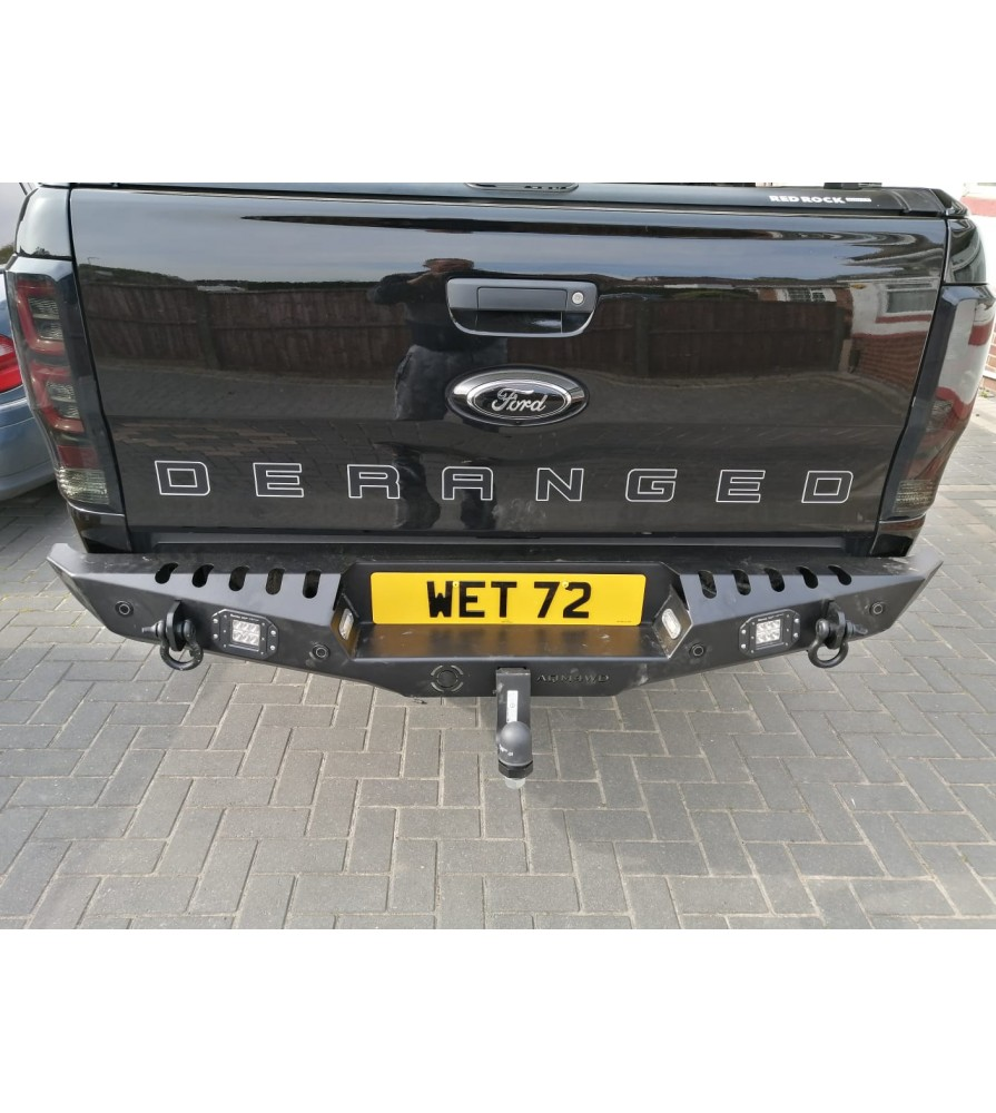 Ford Ranger Winch Off-Road Rear Bumpers